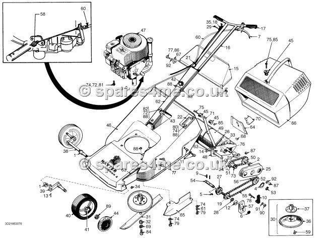harrier engine diagram 26 best hayter harrier 2/19 spares images on pinterest ... 2004 chevy 2500hd 6 1 engine aveo engine diagram #4