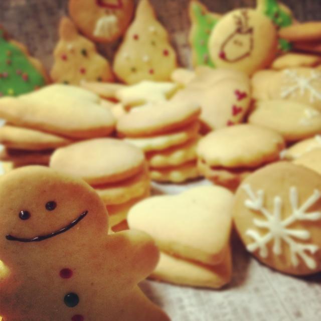 SnapDish Food Camera - クリスマスクッキー by ひっかちゃん