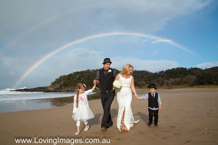 Somewhere over the Rainbow ... Diggers Beach Coffs Harbour, Australia