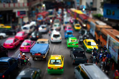 Excellent Tilt Shift example