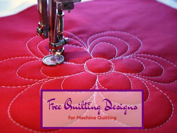 101 best images about FREE MOTION QUILTING on Pinterest : easy machine quilting patterns for beginners - Adamdwight.com
