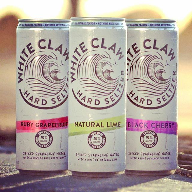 Introducing White Claw Hard Seltzer. Spiked sparkling ...
