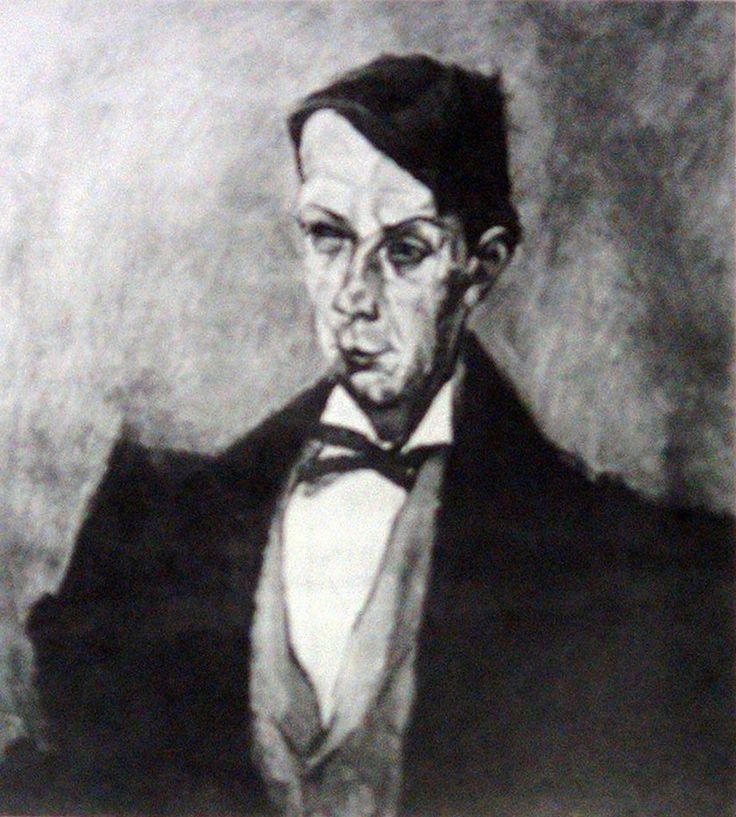 TIHANYI Lajos: Portrait of Dezső Kosztolányi, 1914