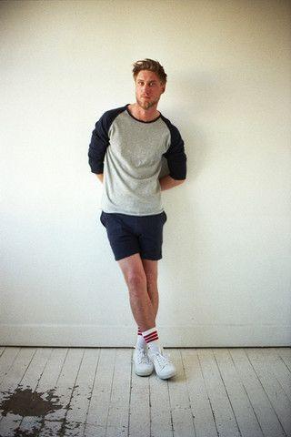 Harvey Athletic Track Short + Jerry Raglan Sleeve Top