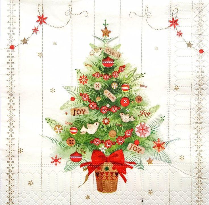 Christmas Tree Napkin Pattern: 25+ Best December 2017- Paper Napkins Beautiful Designs