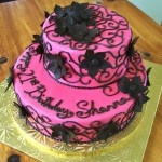 2 Tiered Birthday Cake
