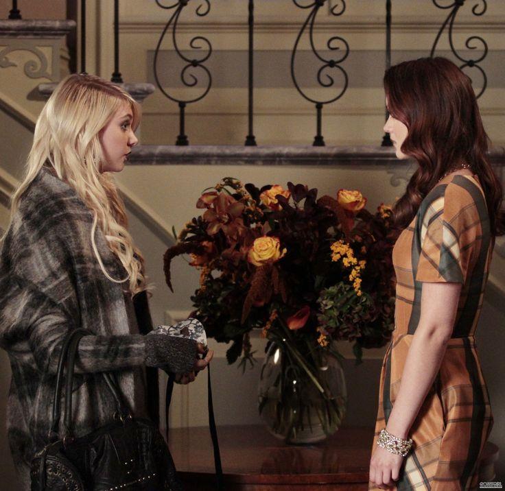 Gossip Girl Season 4. Jenny Humphrey, Blair Waldorf.