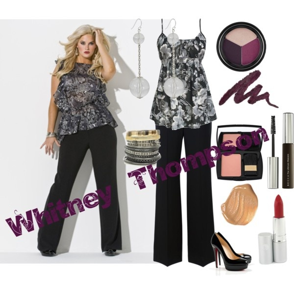 Dress Like ... Whitney Thompson, created by phreak on Polyvore