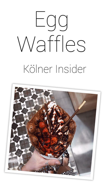 Ihr seid auf der Suche nach Egg Waffles in Deutschland? Ich verrate euch in meinem Köln Insider wo es den leckeren Frozen Joghurt in Egg Waffles gibt!
