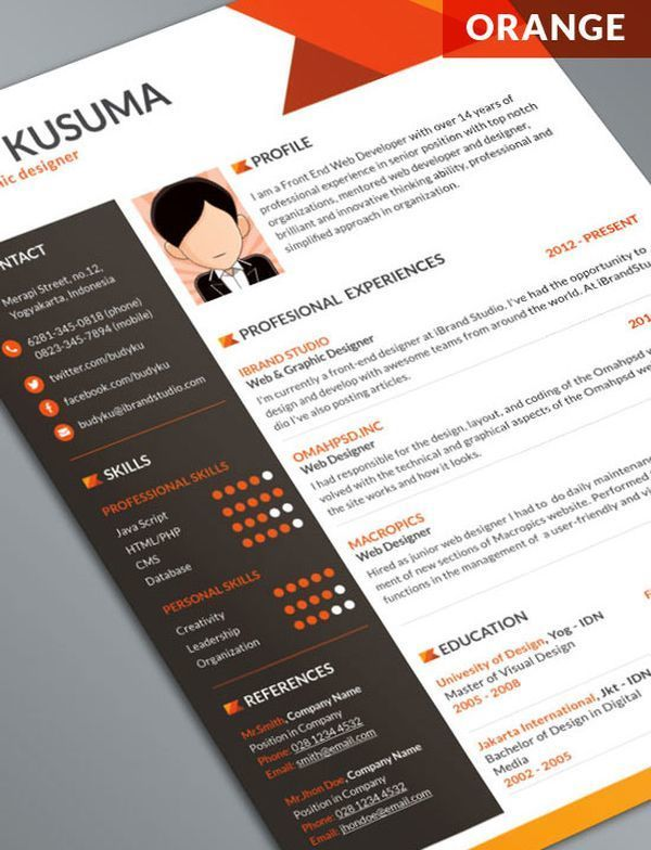 photos of creative ui designer resume