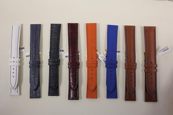 Unique handmade watchbands of high quality and available in various exclusive materials; including Kevlar, buffalo leather, lizard leather, eel leather, Madras leather and ostrich leather. http://www.goldbergjuweliers.nl/shop/horloges/horlogebanden