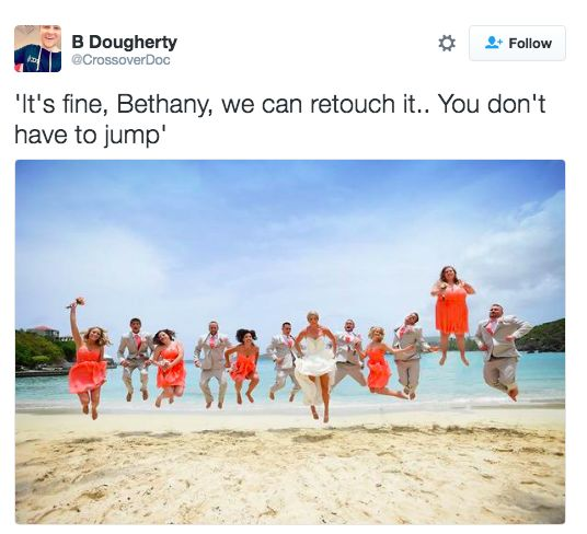 Now channel your inner-Bethany.