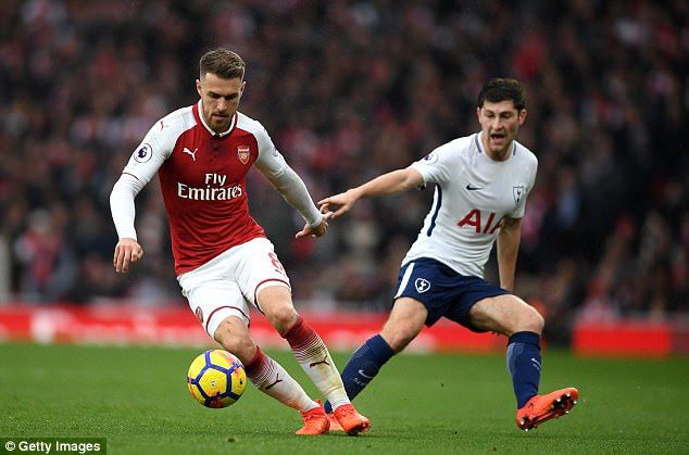 Ben Davies was one of Tottenham's better performers on a day to forget for them