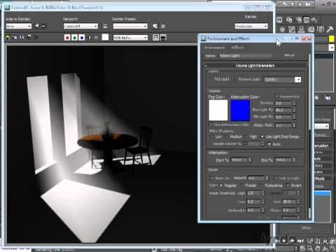 3d max tutorials : Setting light volume.mov