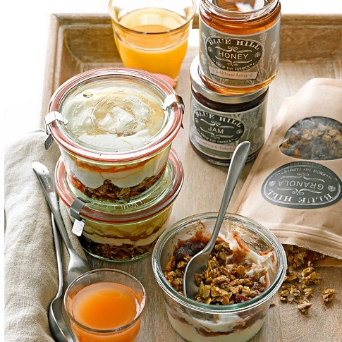 Weck Jars make the best bowls!