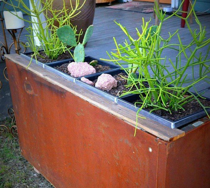 s 13 planter ideas that blow all other planters out of the water, container gardening, gardening, repurposing upcycling, Find a free file cabinet to fill with plants