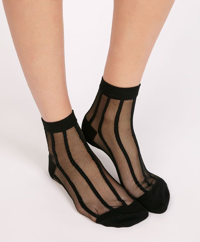Chaussettes rayures verticales - OYSHO