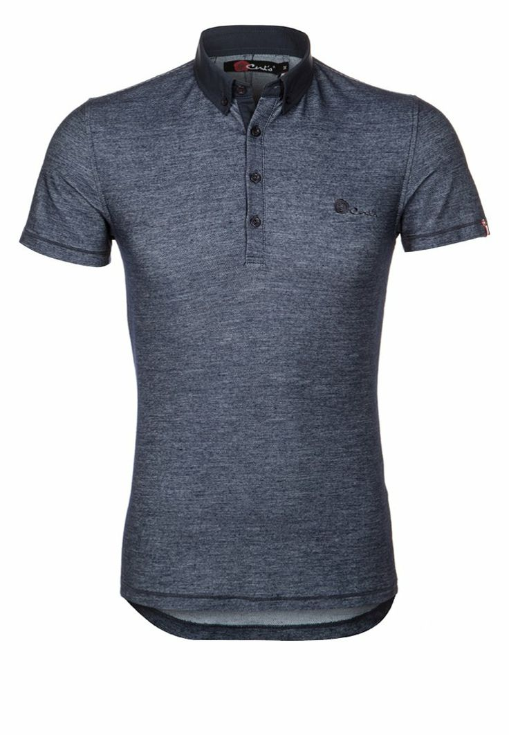 CENT´S - Poloshirt - bleu denim