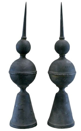 Antique Architectural Girouettes / Roof Finials