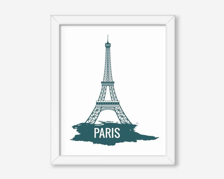 Quadro Paris Torre Eiffel. - Toque Decorativo - Crie seu estilo onde estiver!