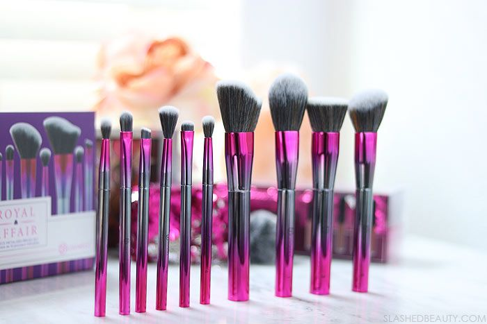 Marble Luxe 10 Piece Brush Set by BH Cosmetics #7