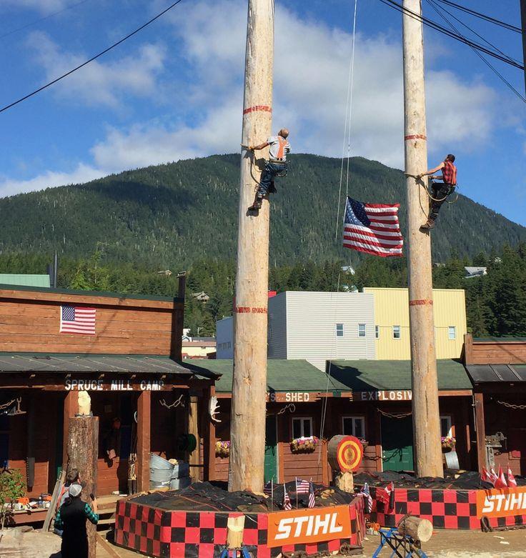 Lumberjack show ketchikan alaska, things to do alaska, things to do ketchikan alaska