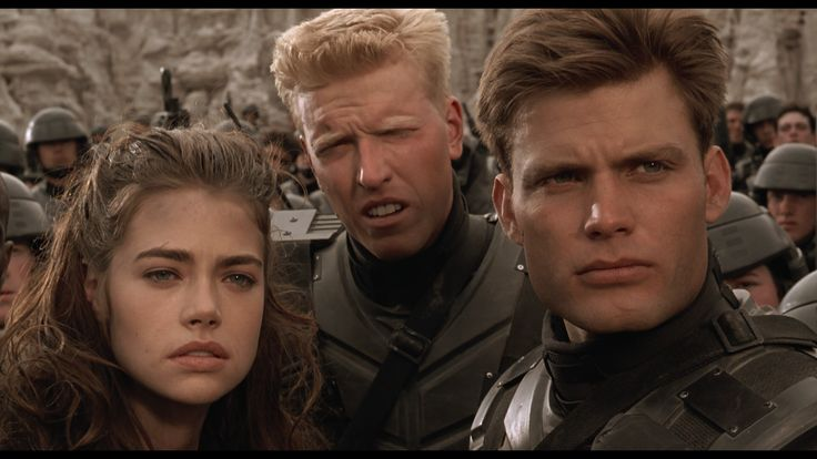 Starship Troopers: Carmen Ibanez, Ace Levy and 'Johnny' Rico