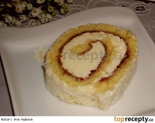 Kokosová roláda  http://www.toprecepty.sk/recept/1692-kokosova-rolada/