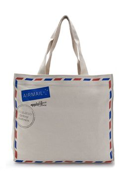 tote - airmail canvas bag