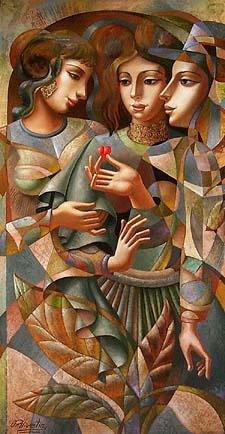 Oleg Zhivetin - Three Graces