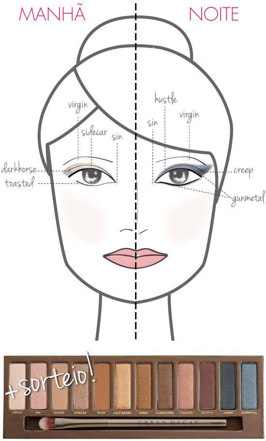 tutorial-maquiagem-naked-palette-sombras-dia-e-noite-manual-guia-inspiracao