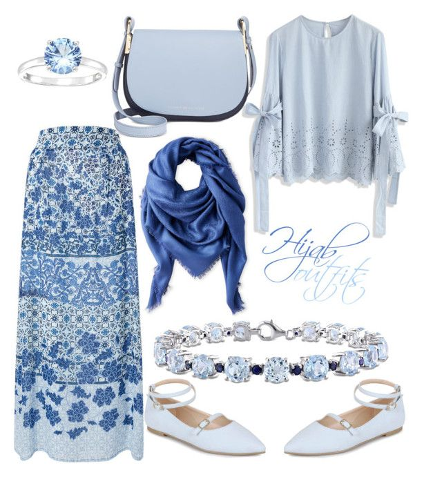 """""""#Hijab_outfits #pure #light"""" by mennah-ibrahim on Polyvore featuring Chicwish, Monsoon, Liberty, Journee Collection, Tommy Hilfiger and Miadora"""