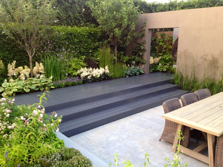 6 meter wide deck steps