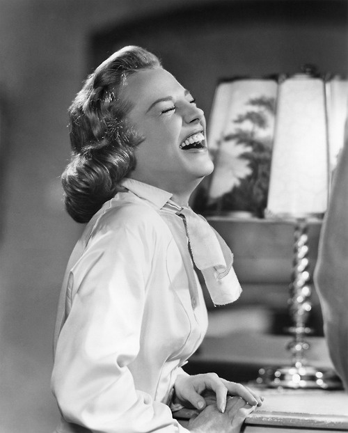 June Allyson laughter