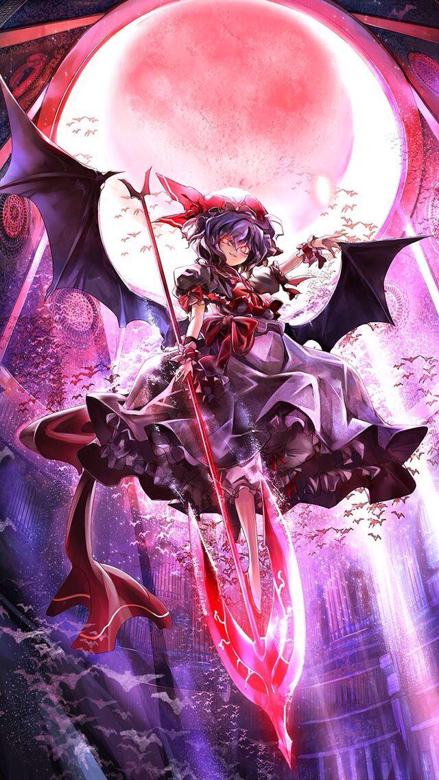 remilia scarlet 壁紙 東方 ダークなアニメ 東方 かわいい