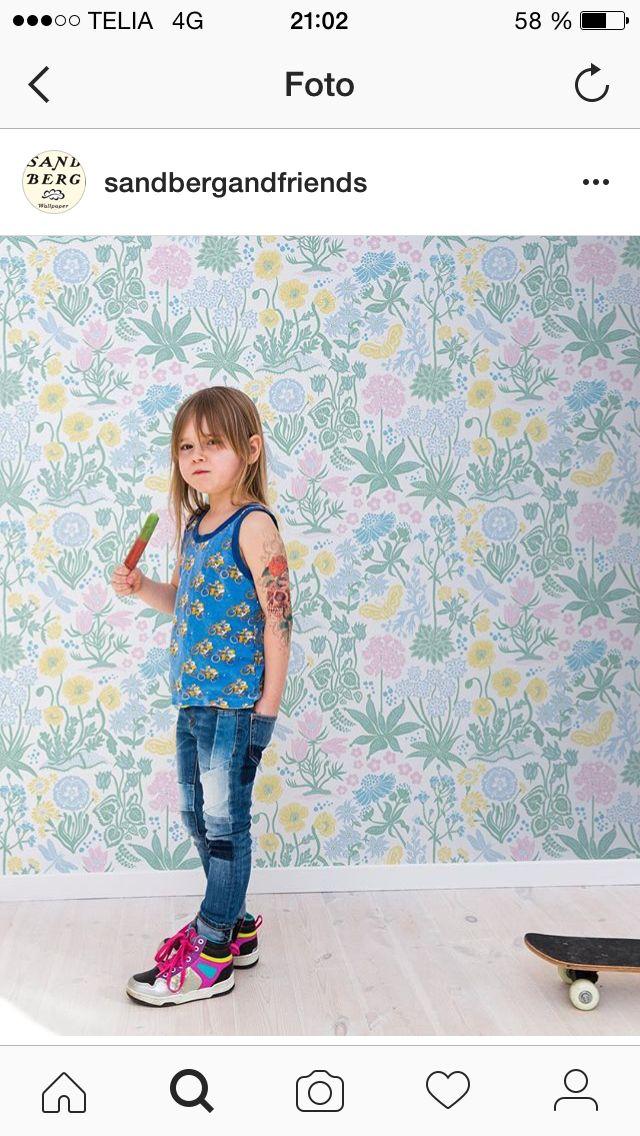 Wallpaper Sandberg familj