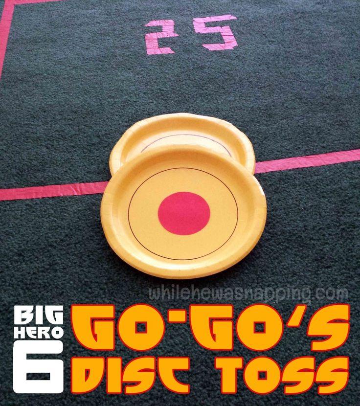 Big Hero 6 Party Games: Go-Go's Disc Toss