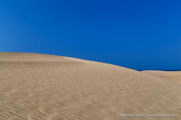 Tottori Sand Dunes- Tottori Prefecture, Japan