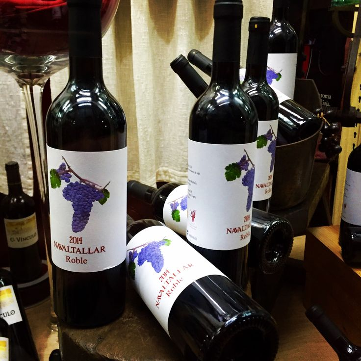 Etiqueta creada para Bodegas Navaltallar, de la D.O.P. Valtiendas (Segovia - Spain) #wines #labels #labelwine #myssya