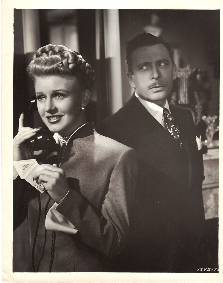 Ginger Rogers and Leon Ames Week-End at the Waldorf