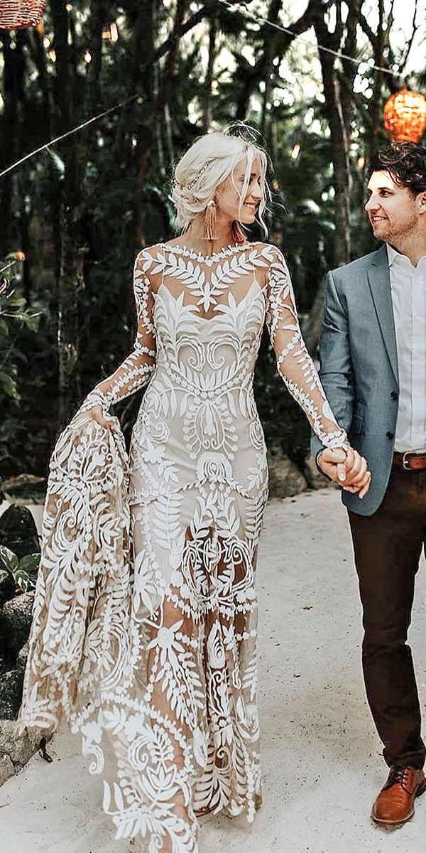 30 Unique Lace Wedding Dresses That Wow Lace Weddings Wedding