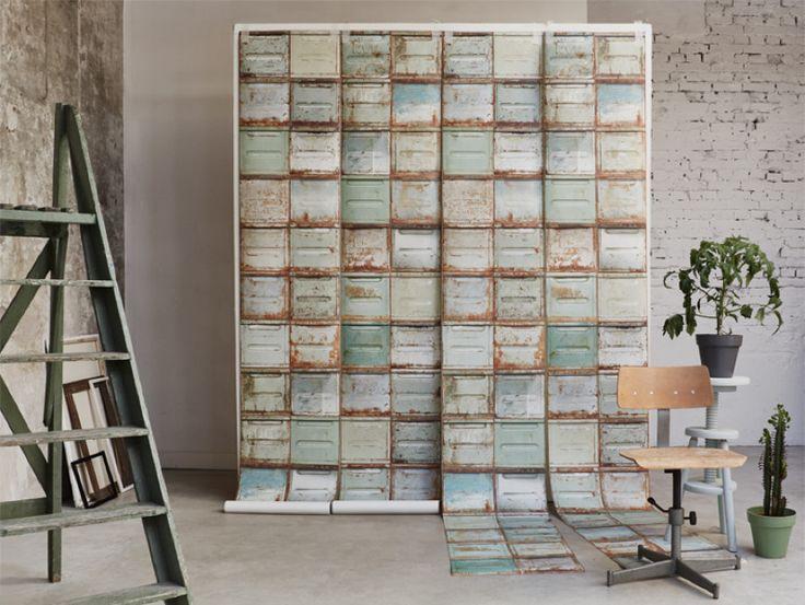 Nieuw! Container behang stoer!! | Studio ditte