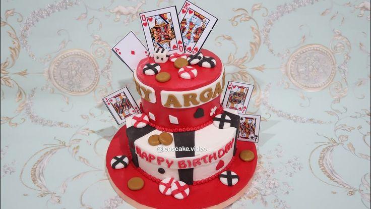 How to Make Birthday Cake Poker - Cara Membuat Kue Ulang Tahun Poker