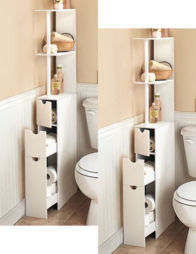 This Is Exactly What I Need In My Bathroom Space Tight Space Storage Solution
