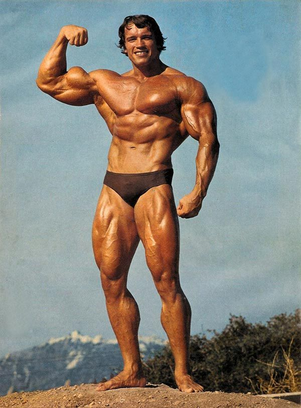 Get in better shape, but maybe not to Arnold Schwarzenegger's extent XD