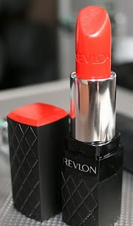 REVLON Colorburst Lipstick: Coral. Rich color, weightless feeling, longer wear, moisturizer and beautiful packaging. Couldn't ask for more. :) Lovely