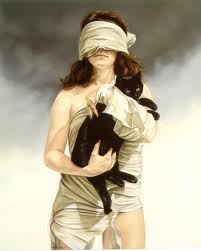 Ans Markus (Halfway, January 29, 1947) is a Dutch painter. Markus is known for her paintings of women in bandages.