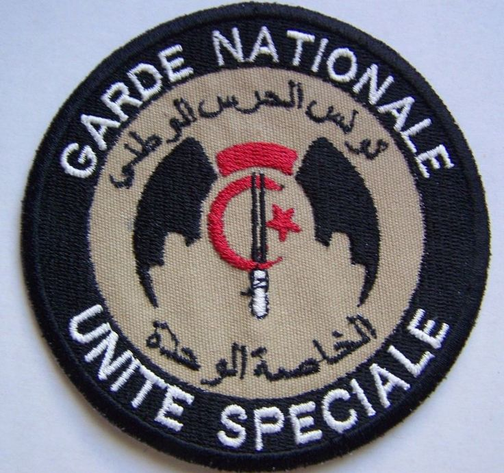 Tunisia Tunisian National Guard Special Forces Unit Patch