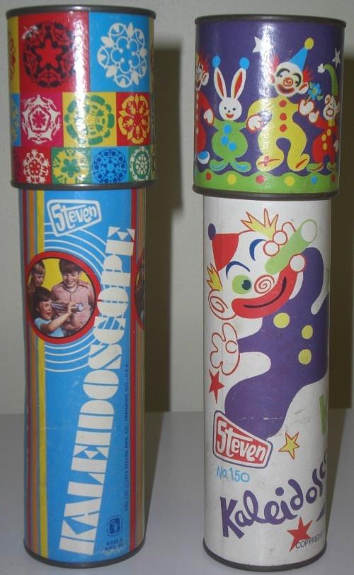 DIME STORE: 1970s Steven Kaleidoscopes #Vintage #Toys