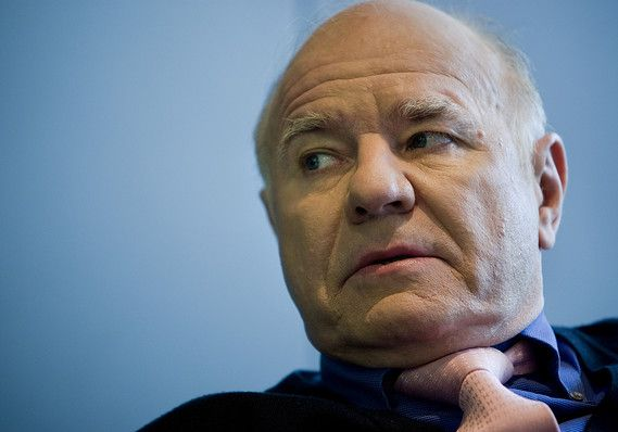 Marc Faber—aka Dr. Doom—warns that in financial markets 'there is a bubble in everything...